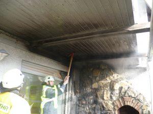 Wohnhausbrand in Randersacker am 08.02.2012