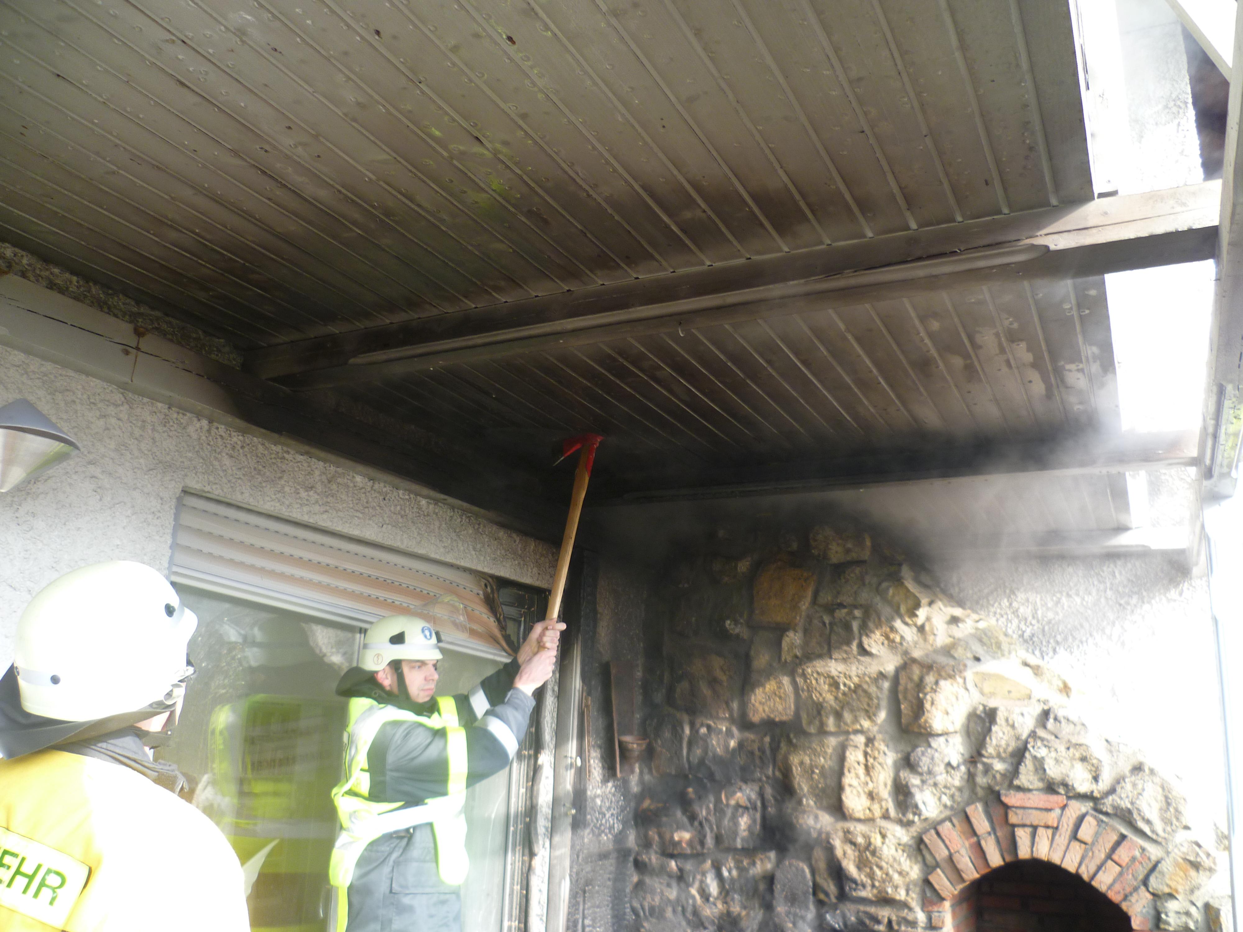 Einsatz – Wohnhausbrand