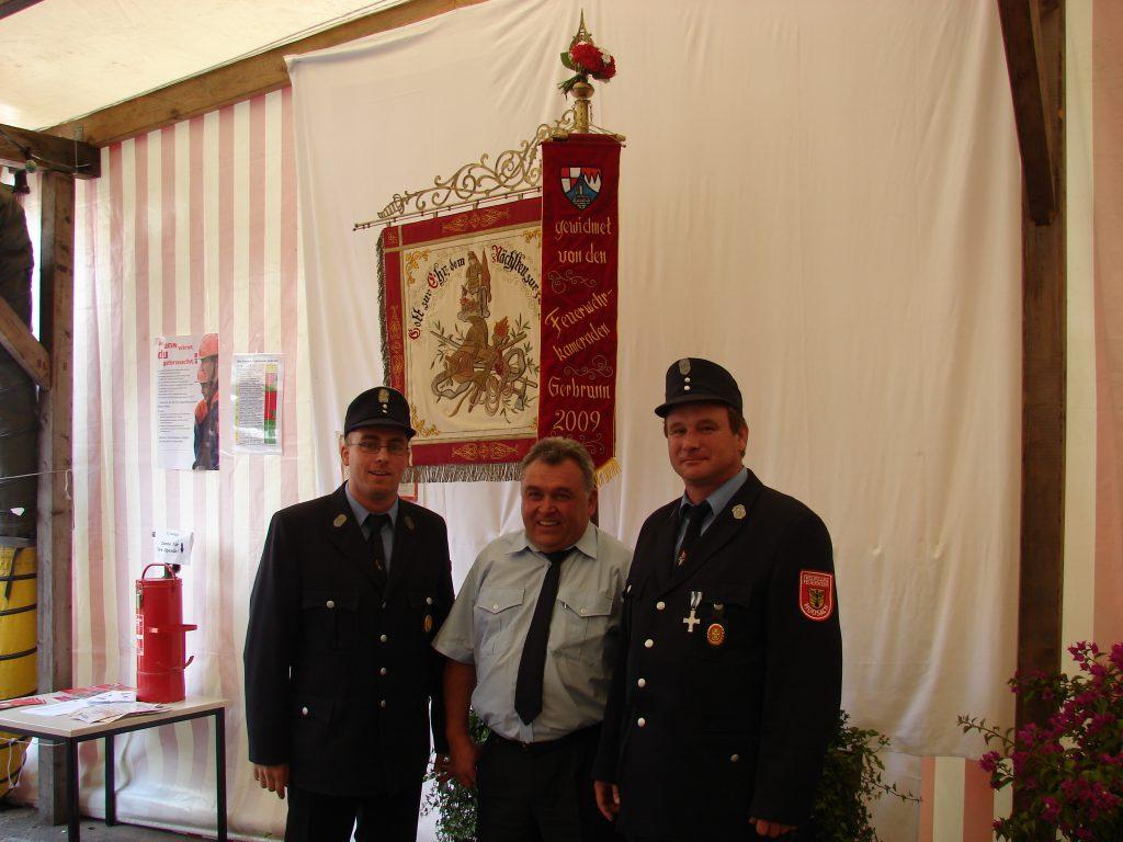 Fahnenweihe in Moosach am 26.09.09 (122)