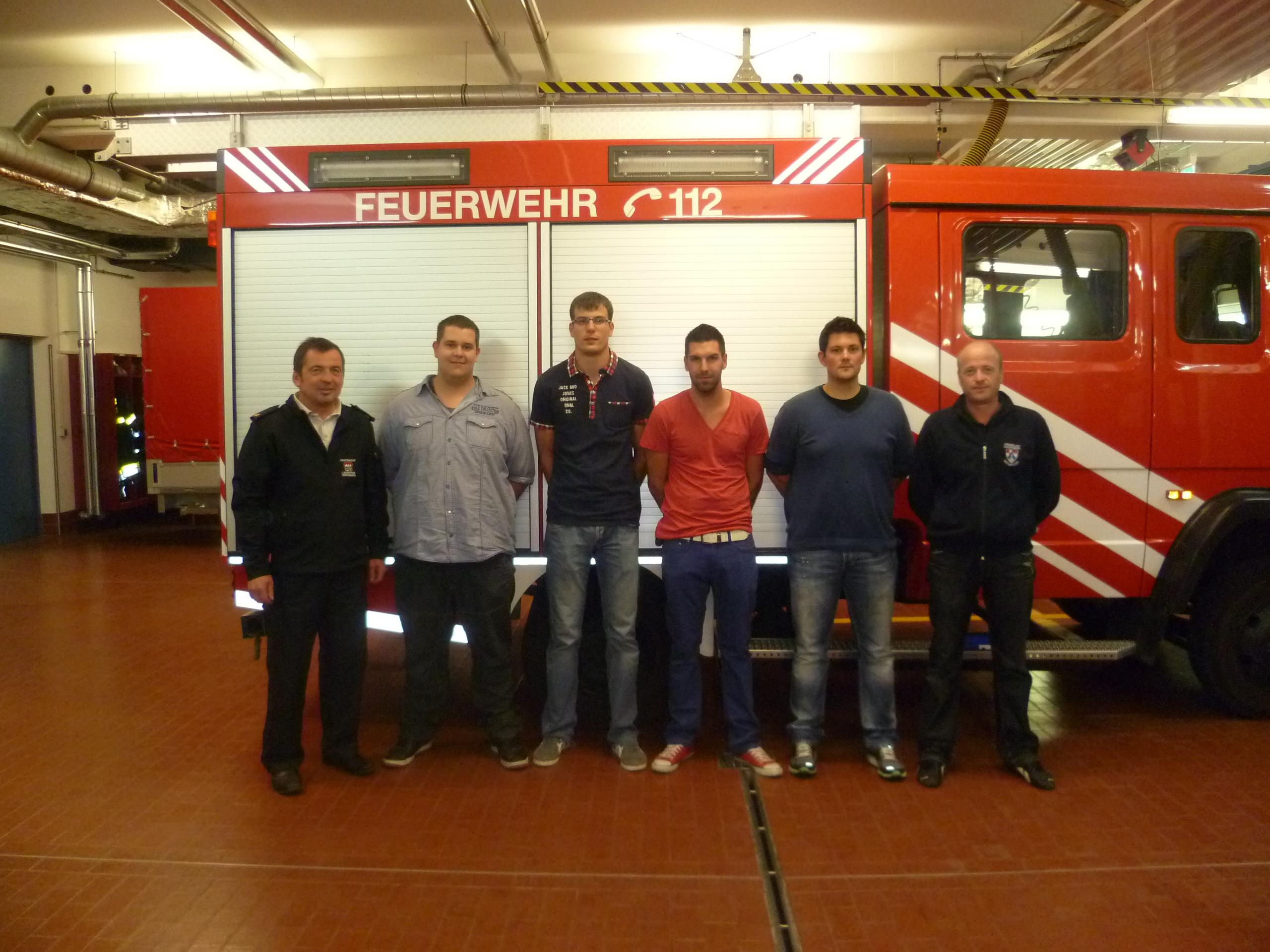 4 neue Fahrer für die Feuerwehr Gerbrunn