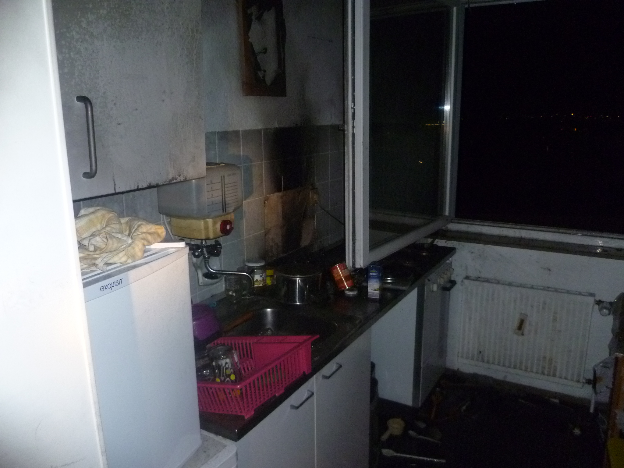 Einsatz – Küchenbrand