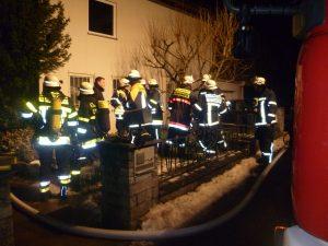 Kellerbrand im Allesgrundweg in Gerbrunn am 29.01.2013 (1)