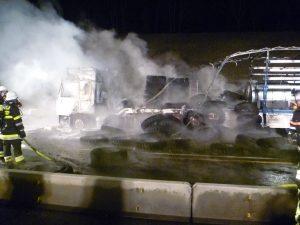 LKW-Brand auf der A3 am 17.02.2012 (12)