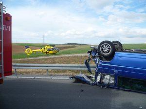 Schwerer Verkehrunfall auf der A3 am 02.10.2012 (4)