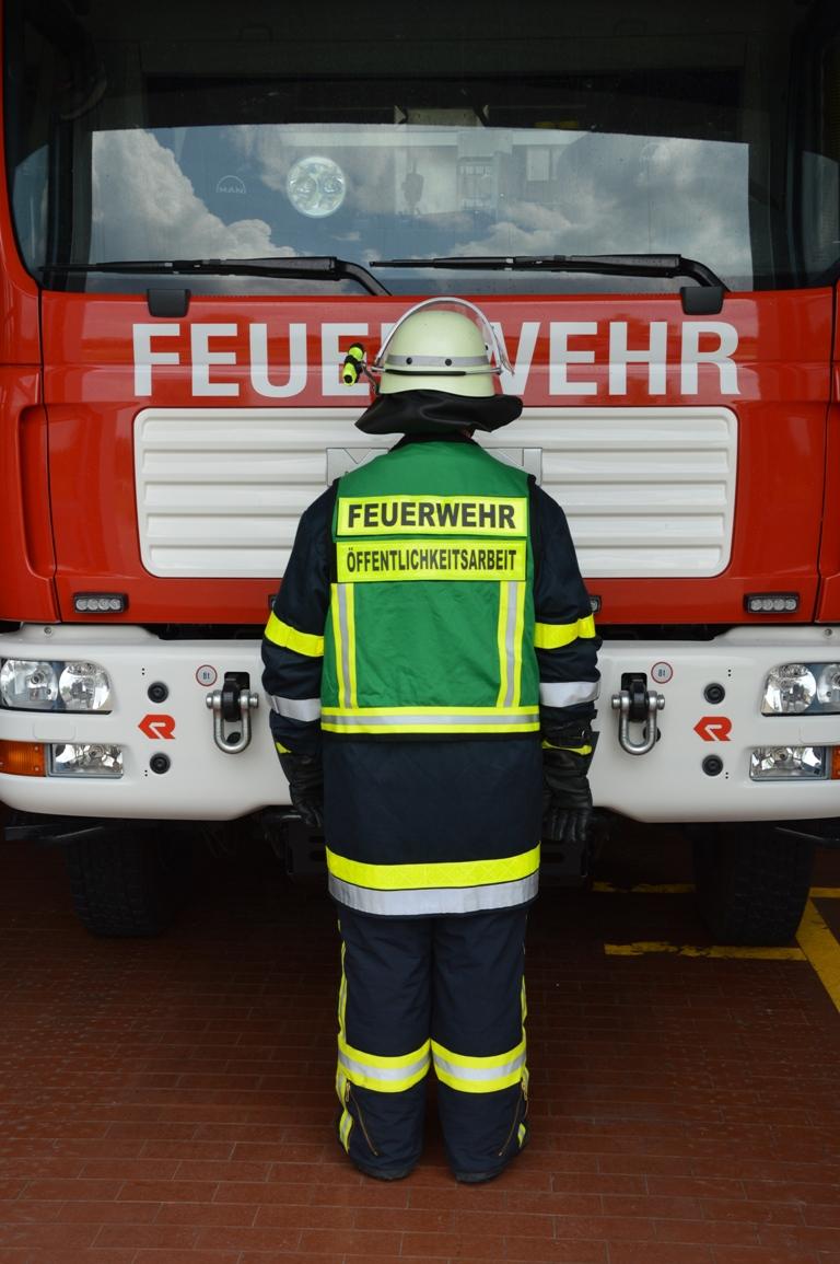 Einsatzkleidung Feuerwehr Gerbrunn