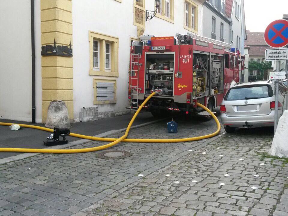 Einsatz – Dachstuhlbrand