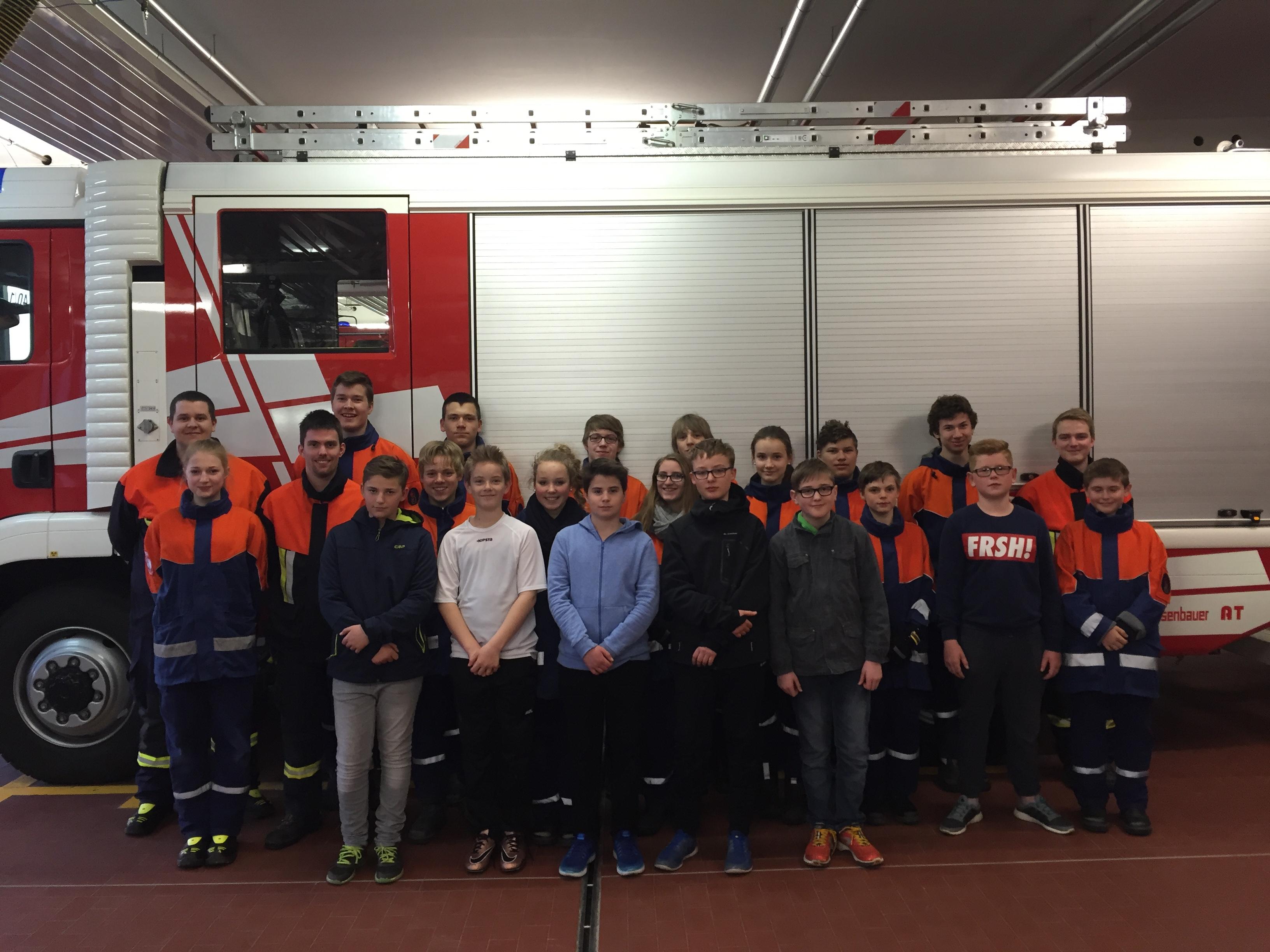 Erfolgreiche Jugendarbeit bei der Feuerwehr Gerbrunn