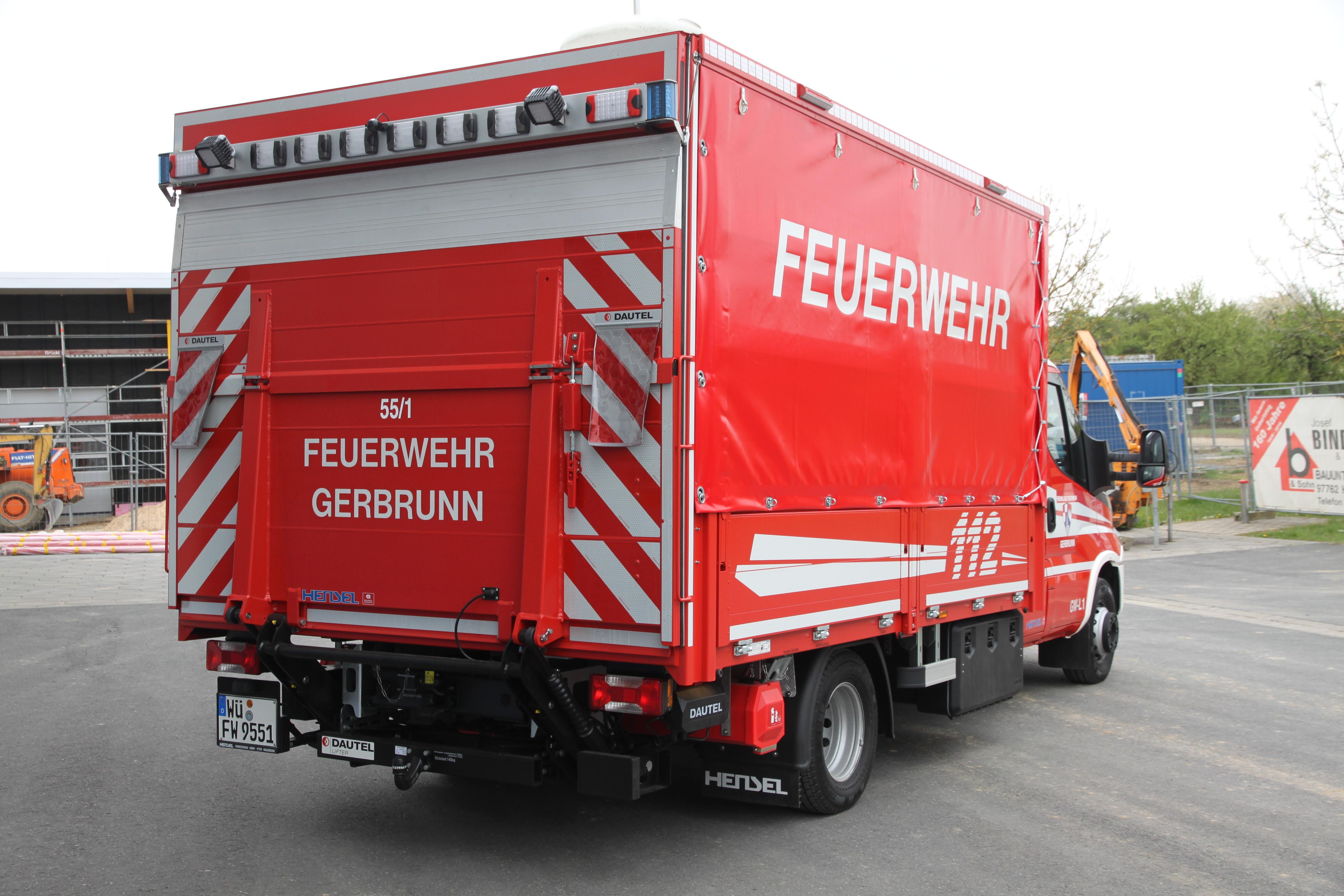 GW-L 1 - Feuerwehr Gerbrunn