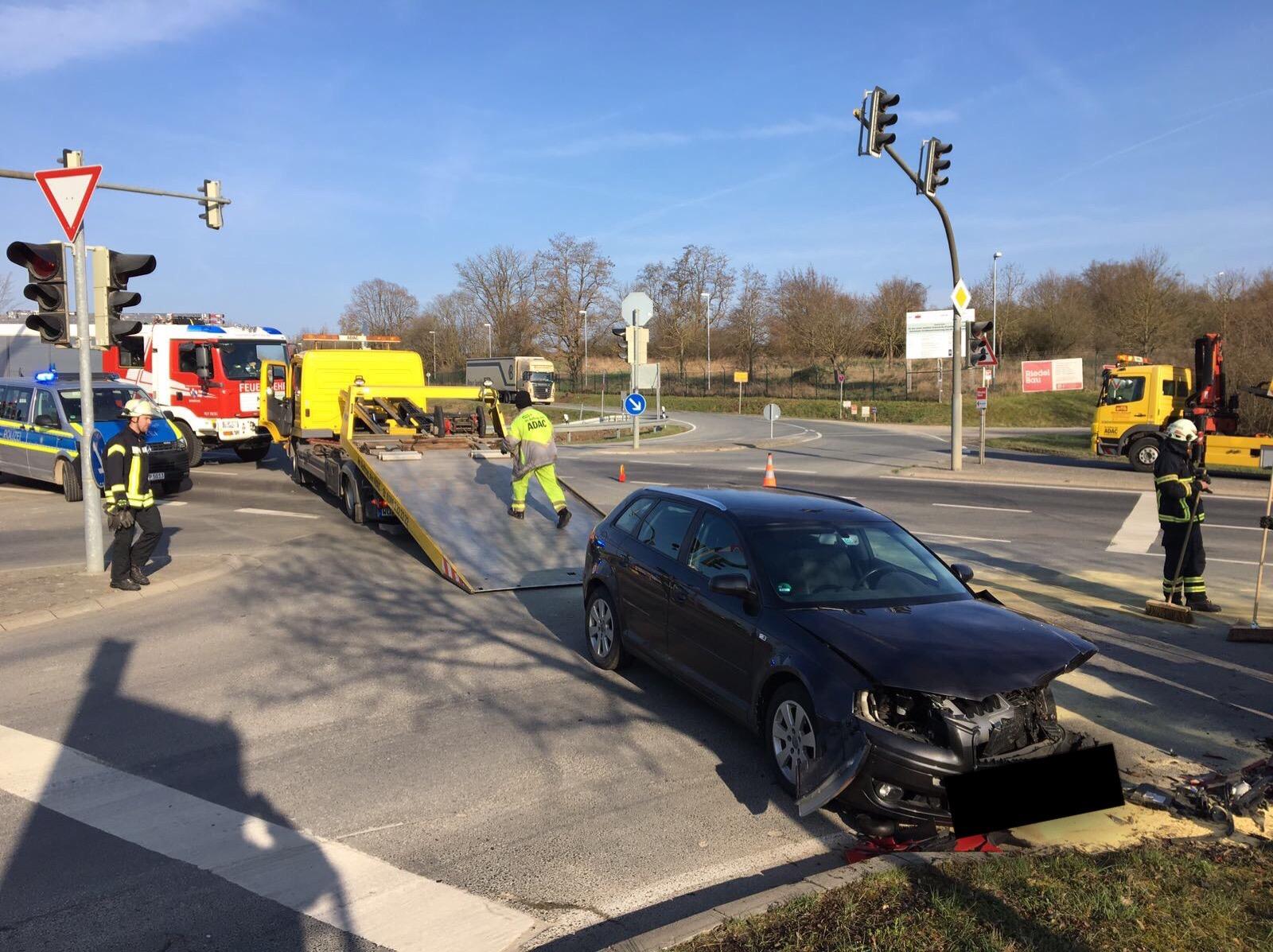 Einsatz – Verkehrsunfall auf der WÜ 28