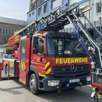Neue Drehleiter für die Feuerwehr Gerbrunn