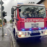 Einsatz 60/21 – THL 1 – Straße überschwemmt